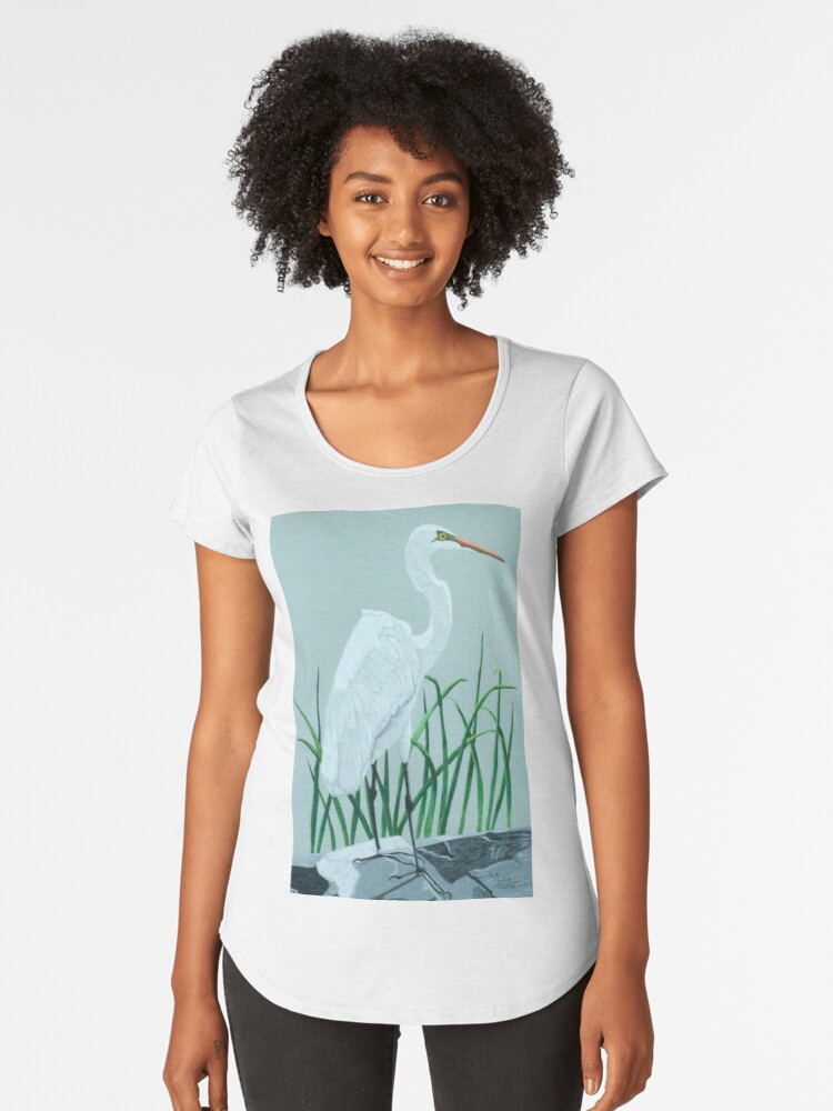 On the Rocks Women's Premium T-Shirt Front