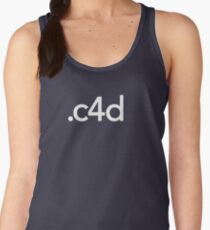 Cinema 4D File Extension Women's Tank Top
