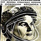 First female Cosmonaut by Gareth Stamp