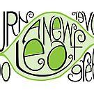 Go Green Leaf by Mariana Musa