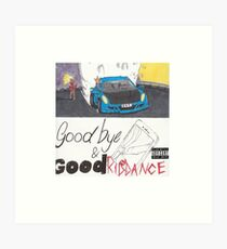 Lámina artística Juice Wrld 999