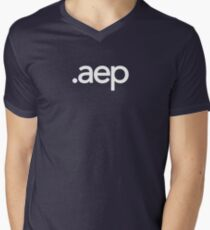 Adobe After Effects File Extension - Creative Cloud Men's V-Neck T-Shirt