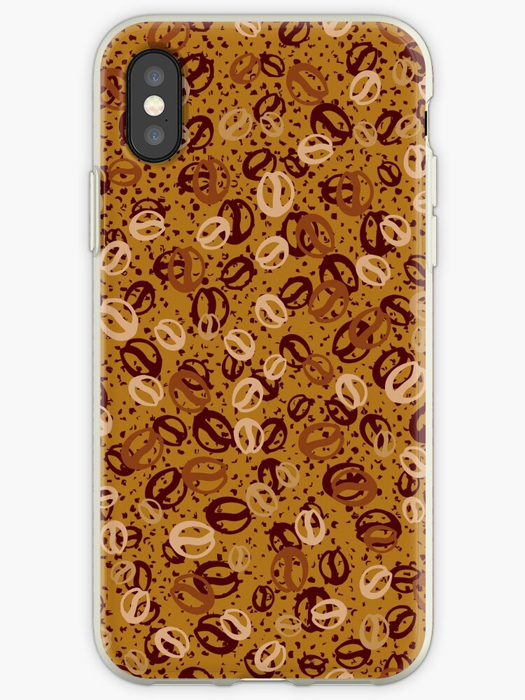 Coffee Beans iPhone Case by webeller