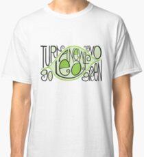 Go Green Leaf T-shirt Classic T-Shirt