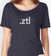 ZBrush File Extension - Pixologic Women's Relaxed Fit T-Shirt