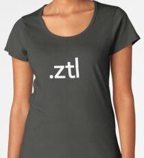 ZBrush File Extension - Pixologic Women's Premium T-Shirt