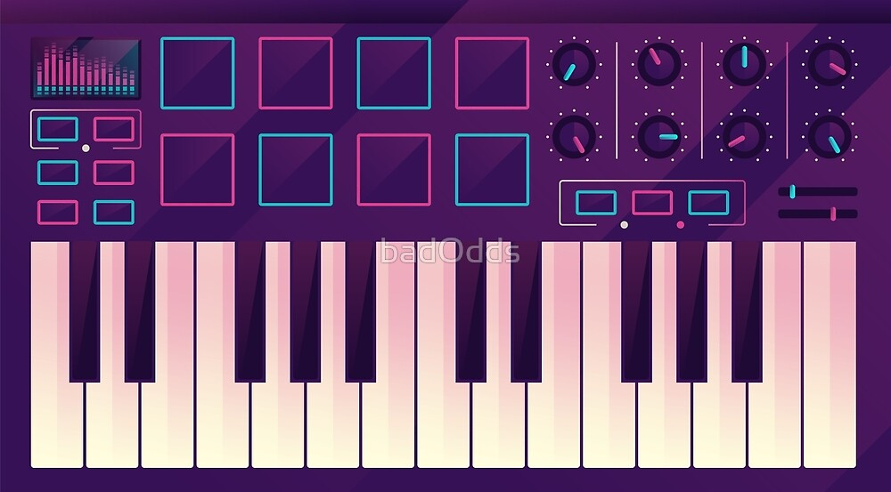 Neon MIDI Controller by badOdds