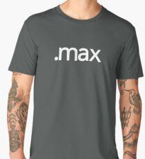 3DS Max File Extension Men's Premium T-Shirt