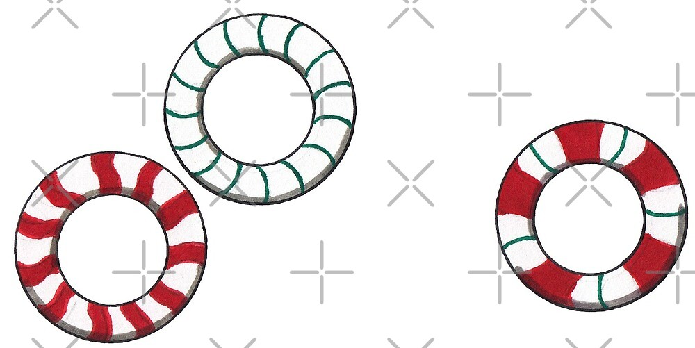 Peppermint Rings by A-P-Ink