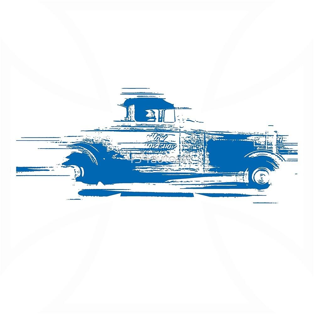 Speedy Hot Rod by 454autoart