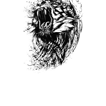 Tiger Ink Beast by mgill42
