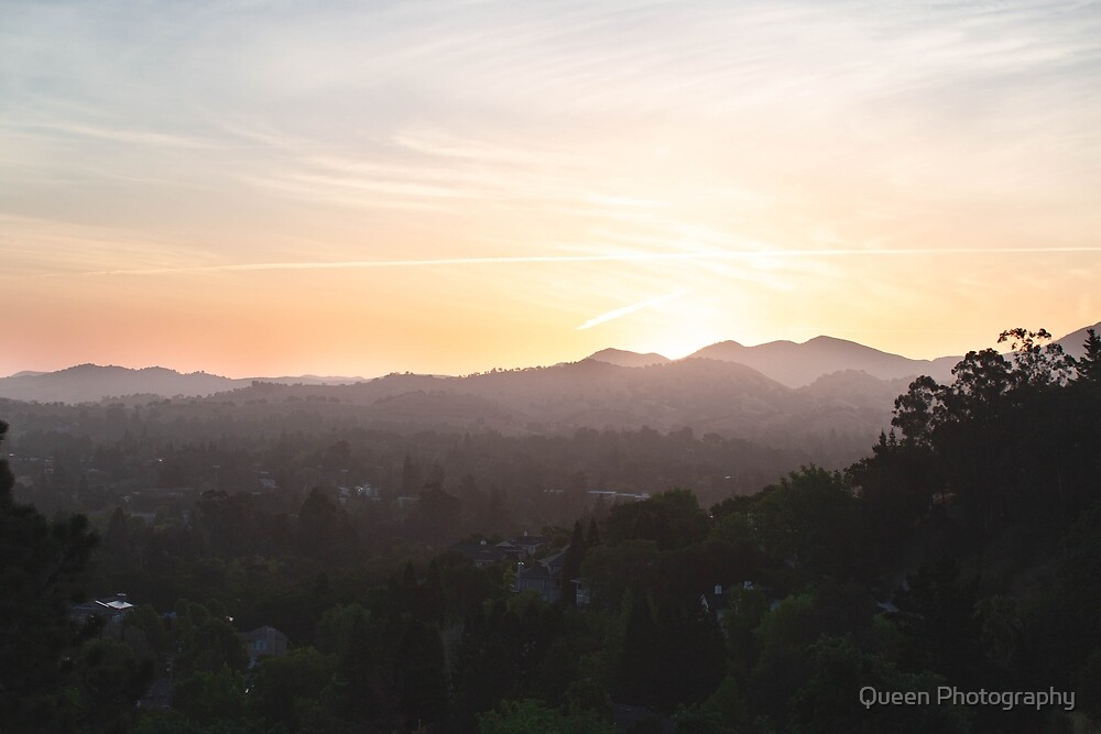 California sunrise by Queen Photography