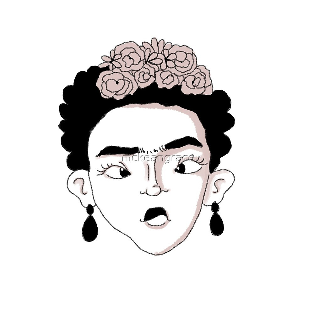 Silly Frida Kahlo by mckeangrace