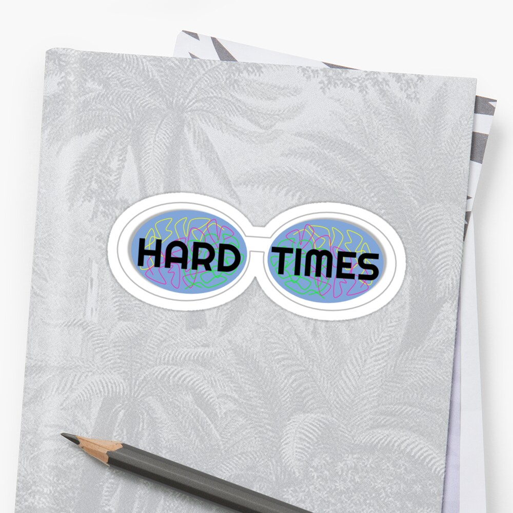 Hard Times Sunglasses by Tbuthod