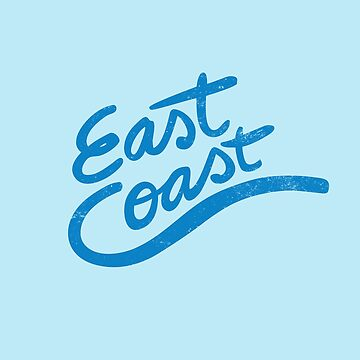 East Coast retro typography by Vanphirst