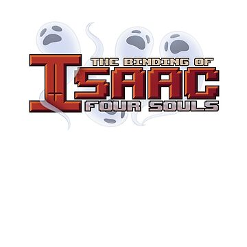The Binding Of Isaac Four Souls Logo by LandingInLondon