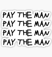 foster the people pay the man lyrics Sticker