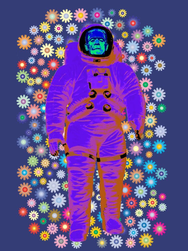Flowery Astronaut Frankie by miniverdesigns