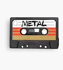 Heavy metal Music band logo Canvas Print
