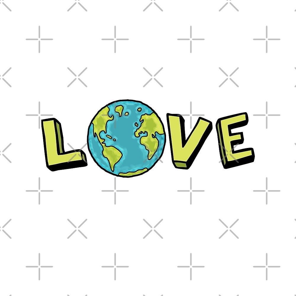 LOVE EARTH by jitterfly