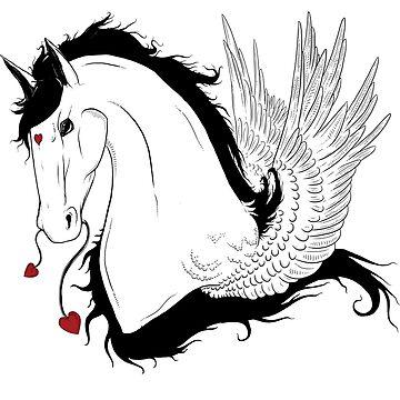 Valentines Pegasus by Anuviel
