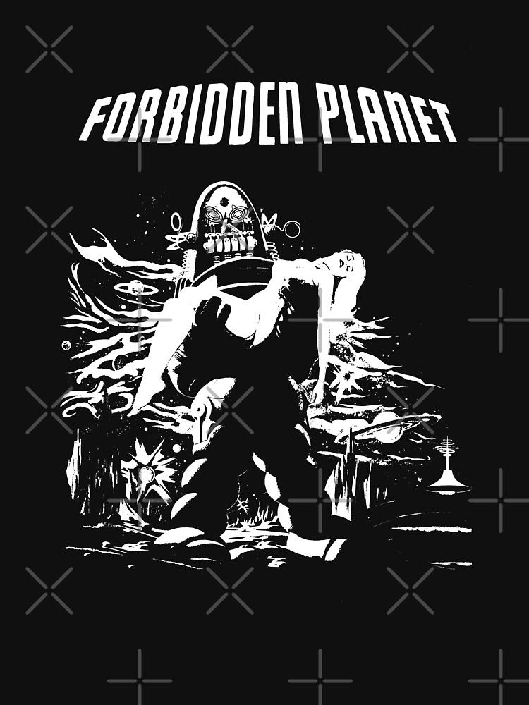Forbidden Planet by KungKthulhu