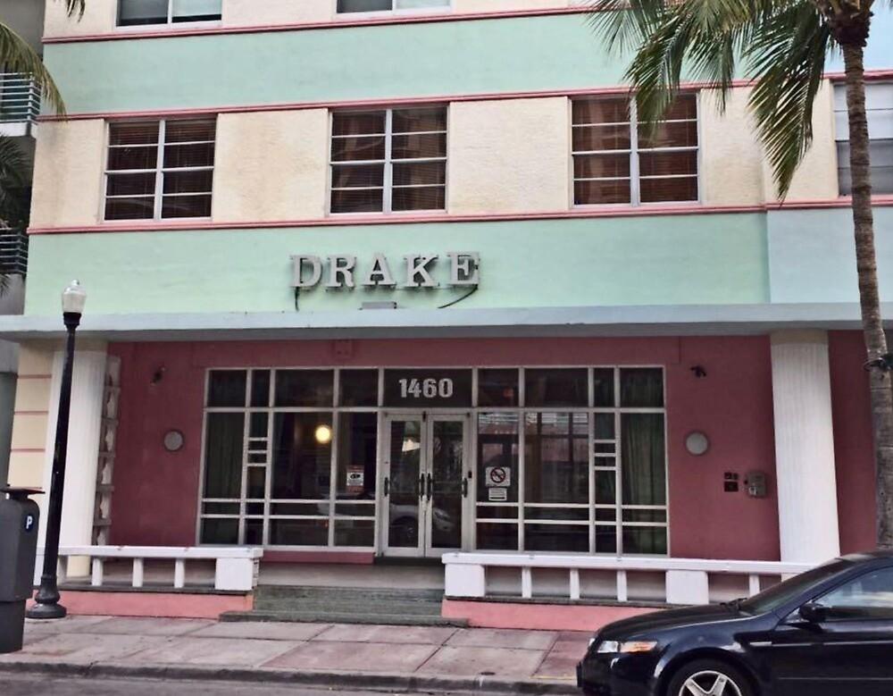 Drake - Miami Beach by samantha katz