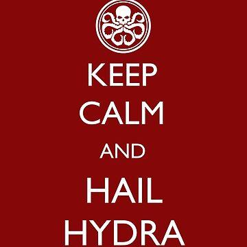 Keep Calm and Hail Hydra by TARDISRepairman