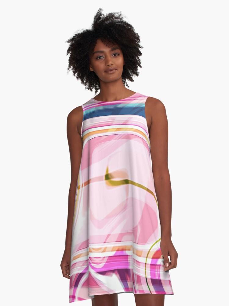 Fabiges Boutique Design A-Line Dress Front