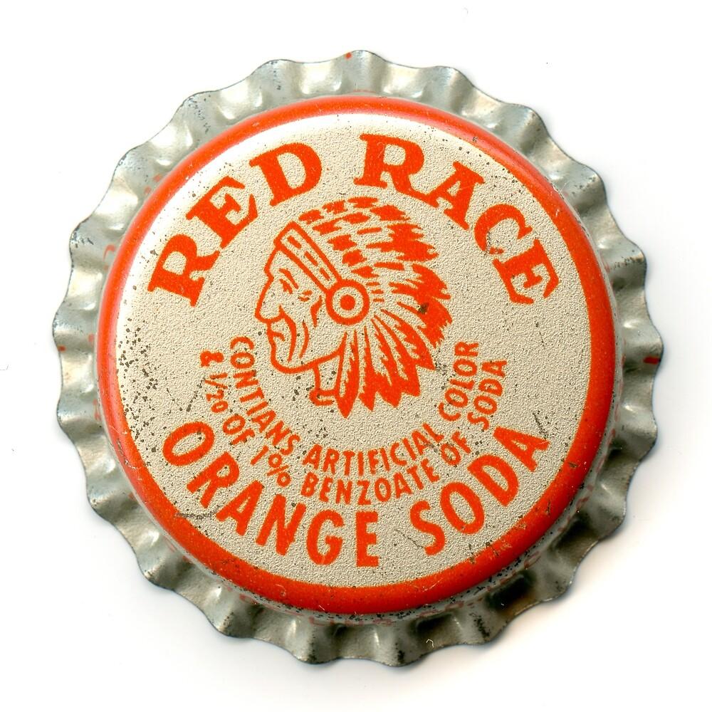 red race orange soda by QueenofCrowns