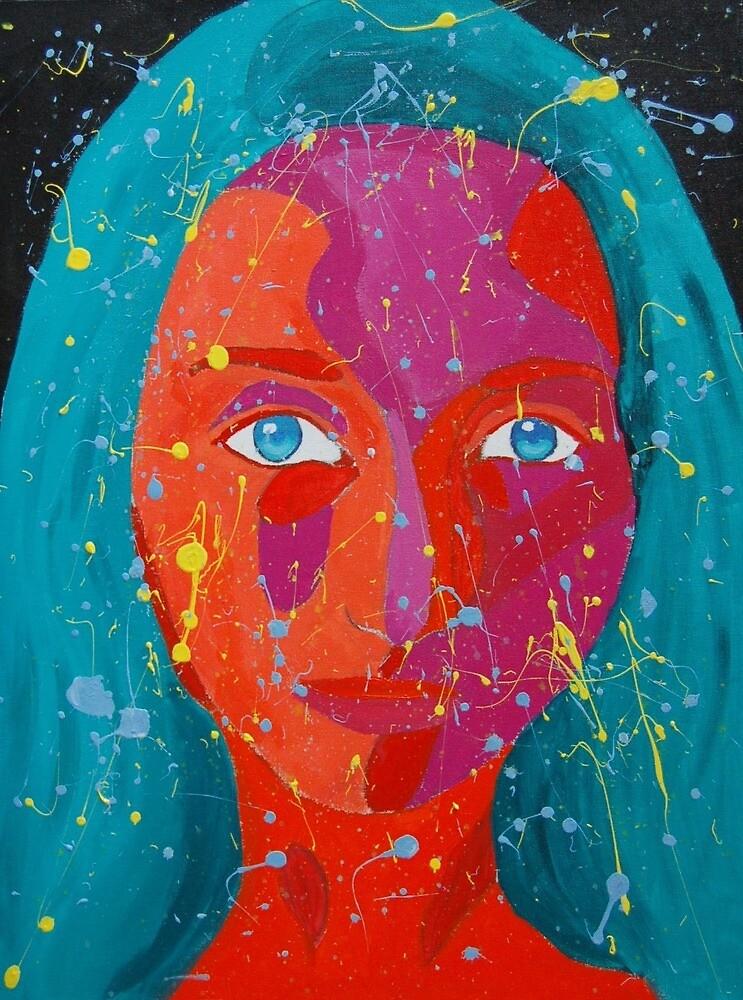 Blue Eyed by loghini marini