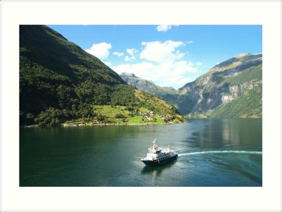 Norwegian Fjords by designminds