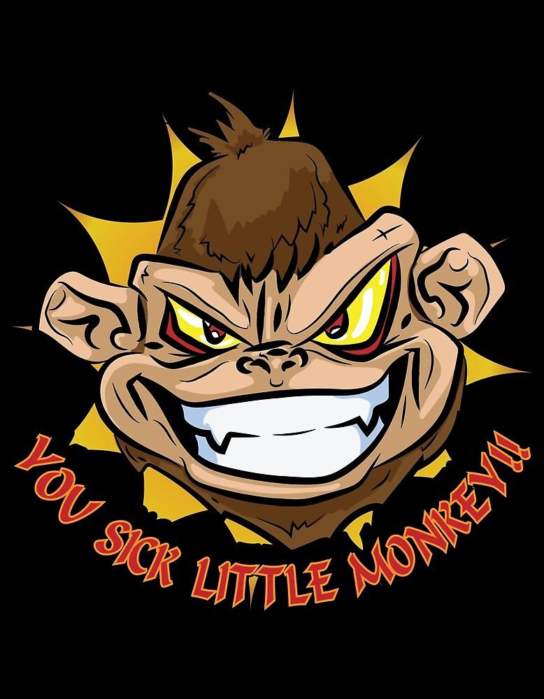 YOU SICK LITTLE MONKEY!! by Qspark