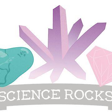 Science Rocks Geology Design by MudAndMarrow