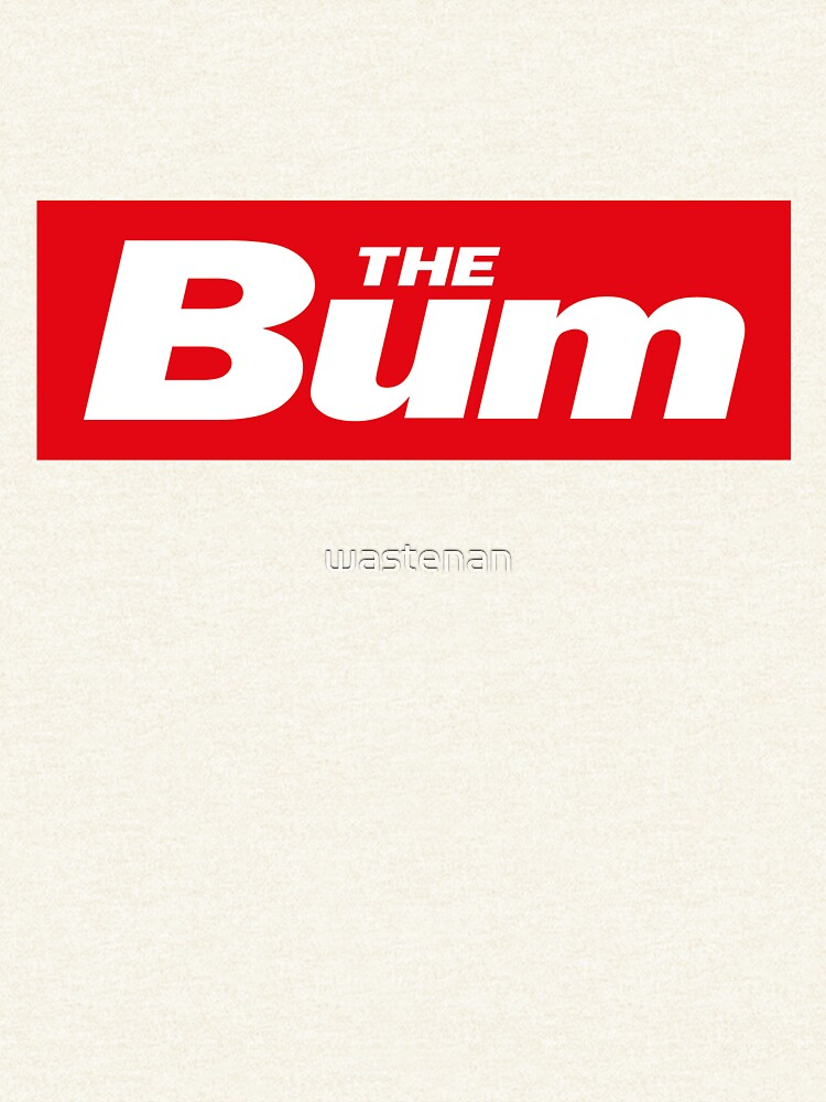 The Bum - left wing sticker by wastenan