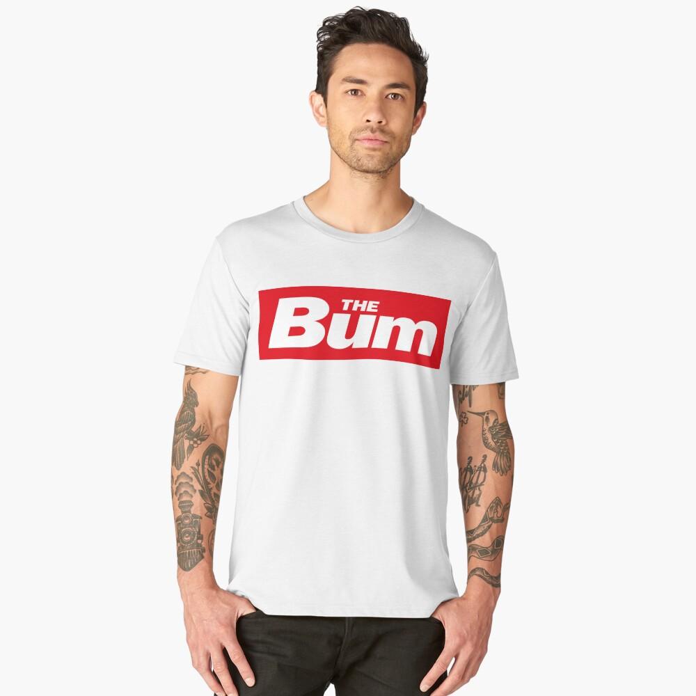 The Bum - left wing sticker Men's Premium T-Shirt Front
