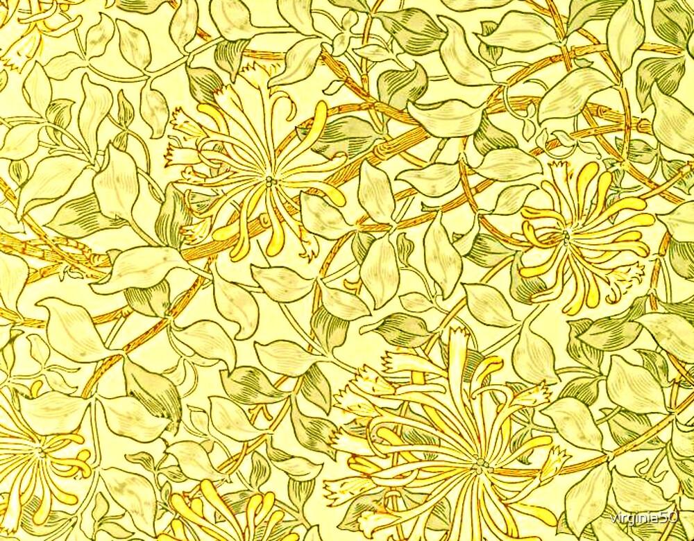 William Morris - Honeysuckle Yellow by virginia50