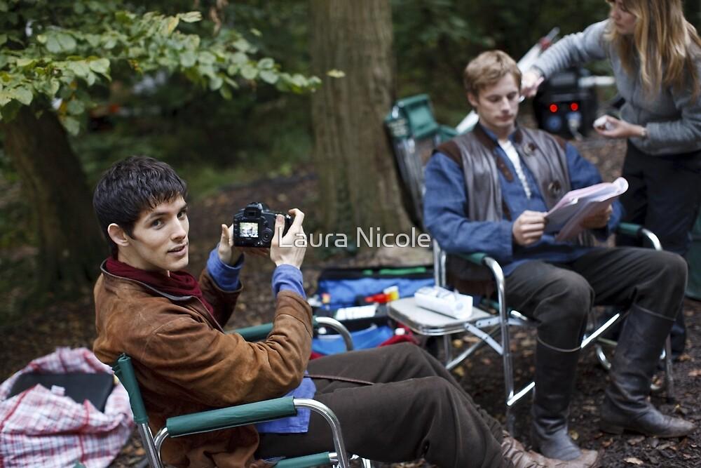 Merlin Behind The Scenes by Laura Nicole