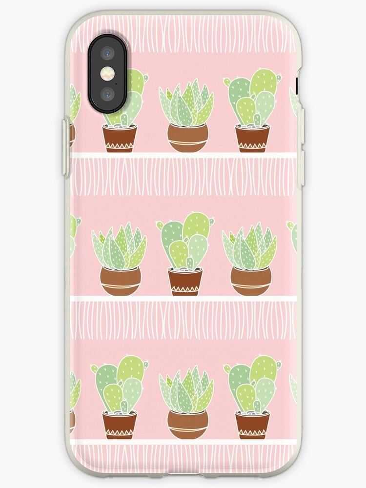 Pink Cactus - Pattern by Vânia  Gonçalves