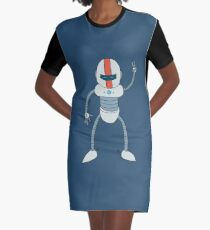 Happy Clive Graphic T-Shirt Dress