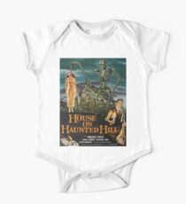 Vintage poster - House on Haunted Hill Short Sleeve Baby One-Piece