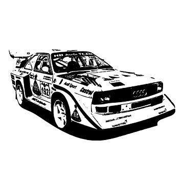 Audi Quattro Group B replica by Holneub