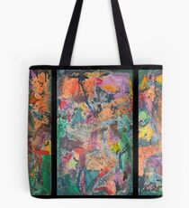 Triptych Tinges Tote Bag
