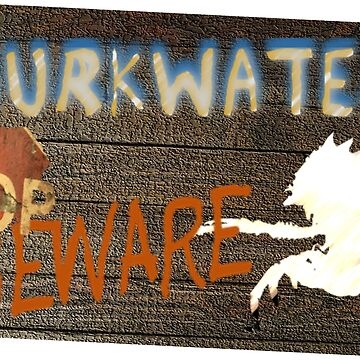Fallout 4 Murkwater Construction Site Sign for Mirelurk Queen by ohwhaleeatcake