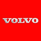 Old Volvo Emblem (Red) - Studio Pouch by Matti Ollikainen