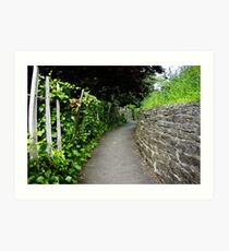 Castle Path Art Print