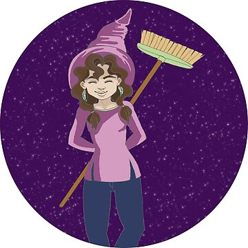 Purple Witch by Nada-Nalani-Art
