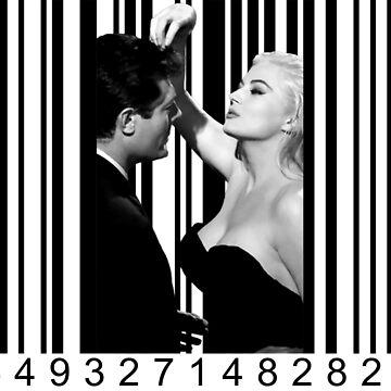 La Dolce Vita in Barcode by luigitarini