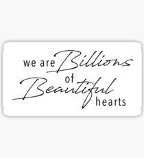 Beautiful Hearts Sticker