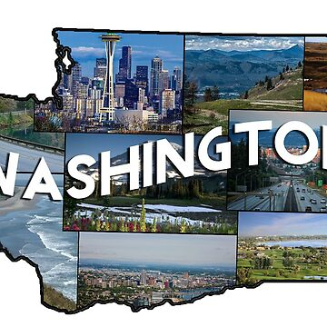 Washington Collage by crylenol